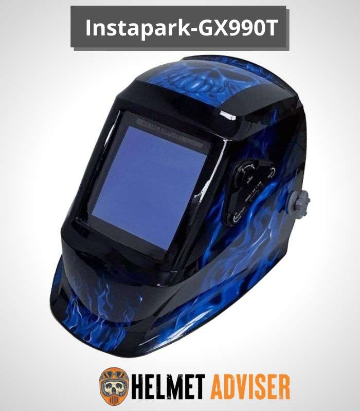 Instapark ADF Series GX990T Solar Powered Auto Darkening Welding Helmet
