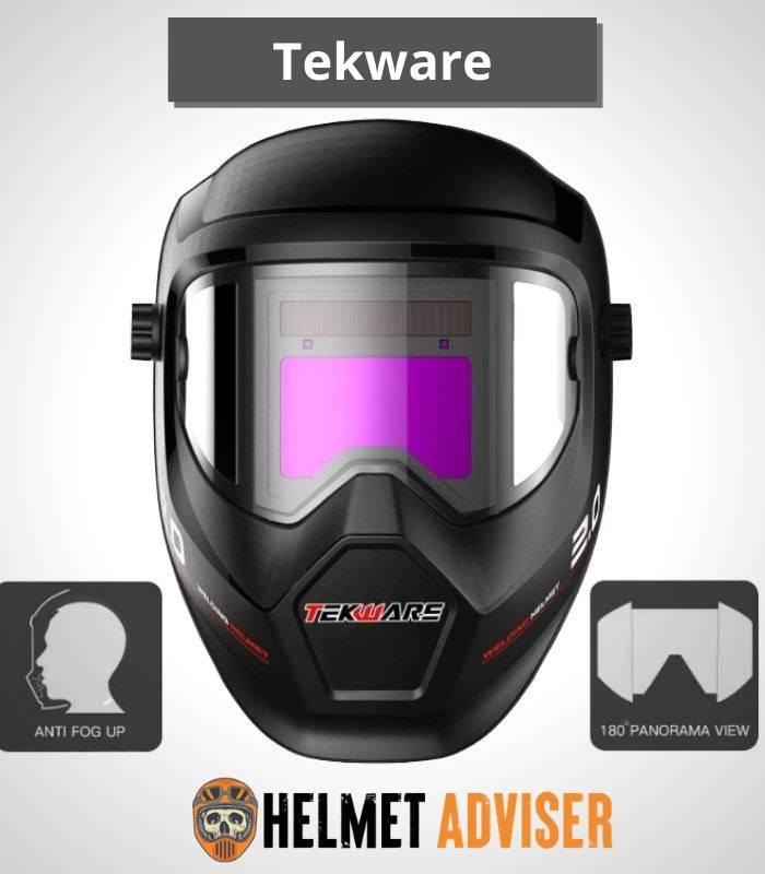 Tekware Anti Fog Auto Darkening Welding Helmet