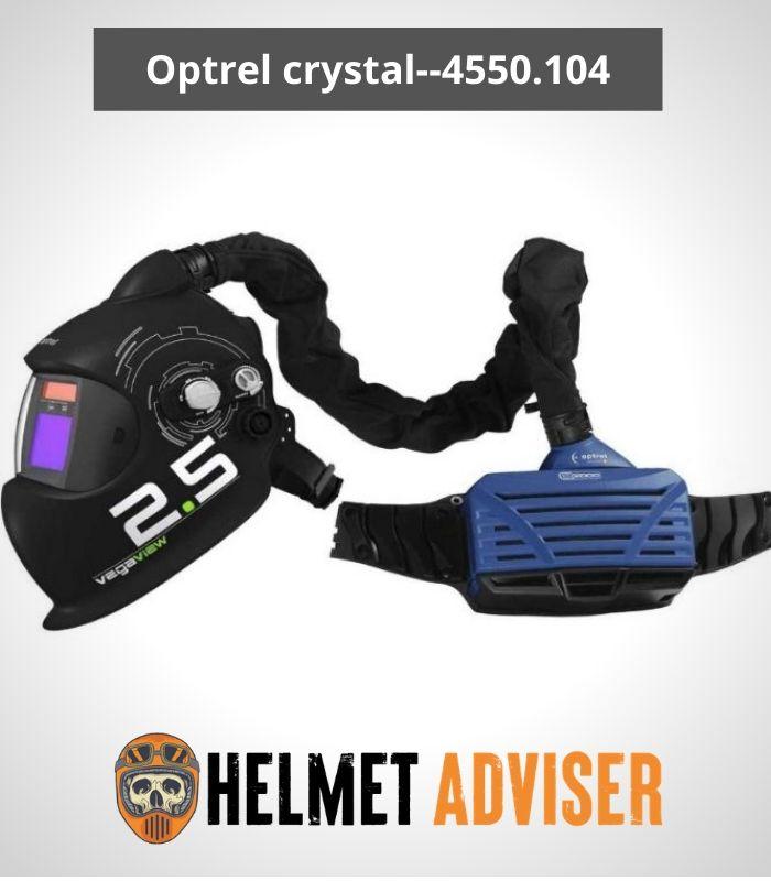 Optrel E3000 PAPR System with Vegaview2.5 Helmet - 4550.104