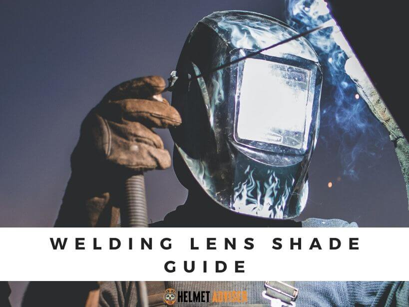 welding lens shade guide