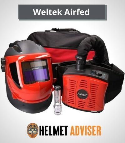 best wleding helmet with built in respirator