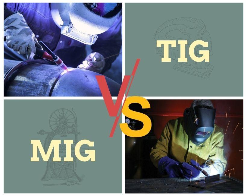 TIG vs MIG welding