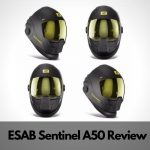 ESAB Sentinel A50 Welding Helmet Review 2021 - Positive & Negatives
