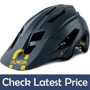 OUWOR mountain bike helmet review