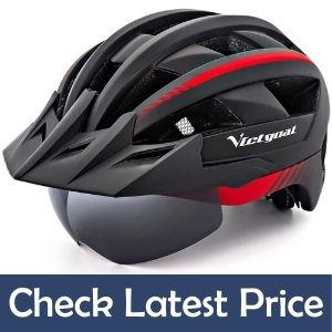 VICTGOAL MTB Helmets for Men Women with Led Light under 100