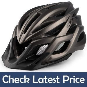 MOKFIRE Budget Bike Helmets With Remvable Visor And Light
