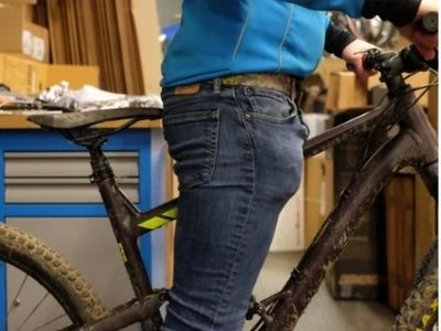 Seat tube length and standover factor for MTB bike size slection