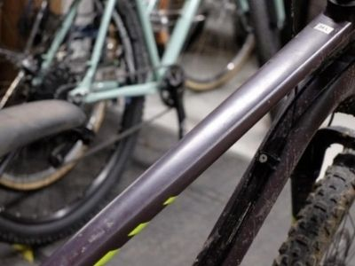Top tube length and reach size of MTB bike
