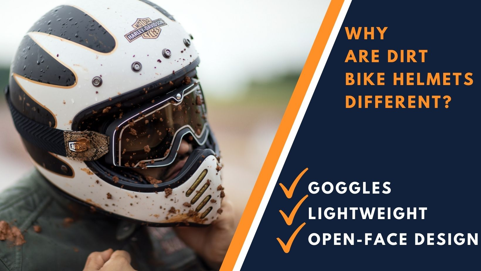 Why are Dirt Bike Helmets Different