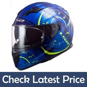 LS2 Full Face stream Tacho helmet