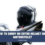 How to carry an extra helmet on a motorcycle